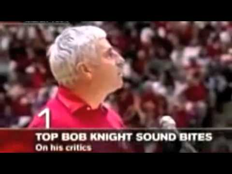 Bobby Knight My Critics Can Kiss My Ass Youtube