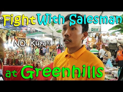 FIGHTING WITH A SALESMAN at GREENHILLS   April 2nd, 2017   Vlog #72