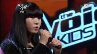 как же круто девчонка поет! победитель Голос дети Корея!