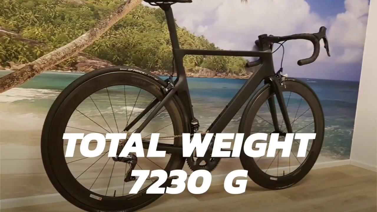 c7f8f5bf8d8 Canyon Aeroad CF SLX 8.0 DI2 2018 - YouTube