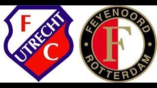 Video Gol Pertandingan FC Utrecht vs Feyenoord