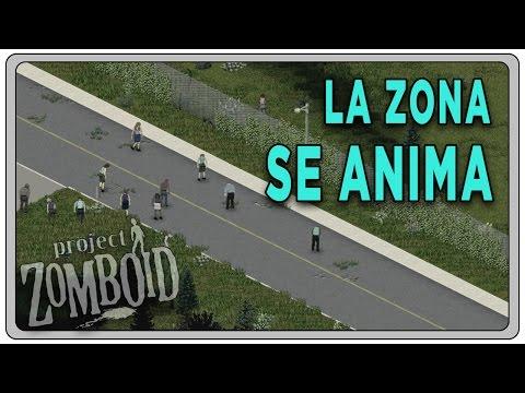 "PROJECT ZOMBOID (Build 37.3) #06 ""La zona se anima""   Gameplay Español"