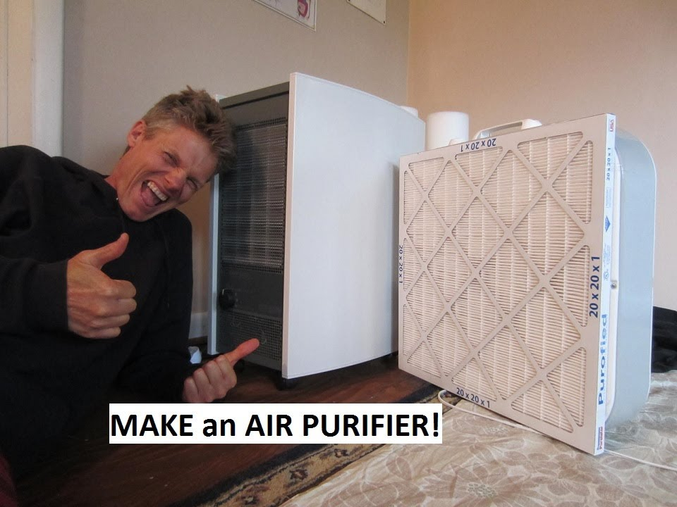 How To Make An Air Purifier Do It Yourself 50 Youtube