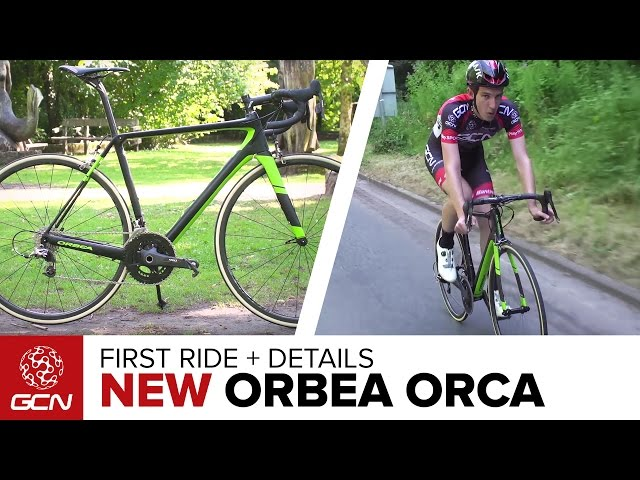 BRAND NEW Orbea Orca - First Ride And Full Details