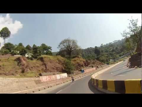 Islamabad to Murree through Expressway in HD - Part 1 of 2