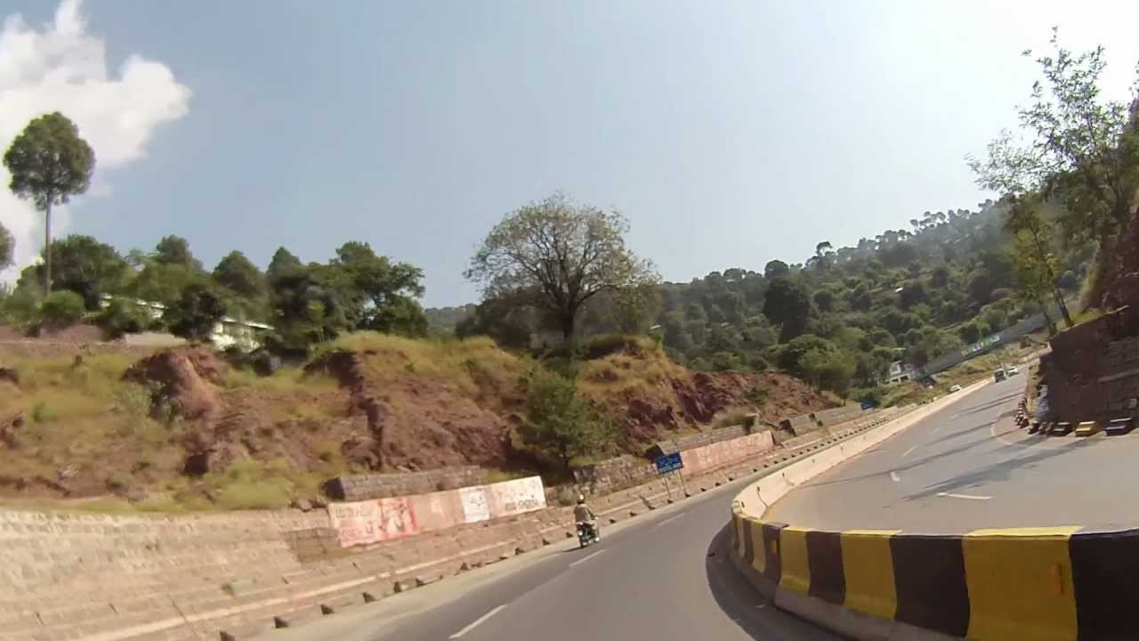 islamabad  murree  expressway  hd part    youtube