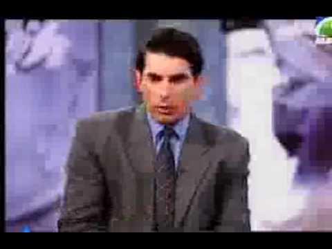 The sportsman show waseem akram taking interview of misbah ul haq must