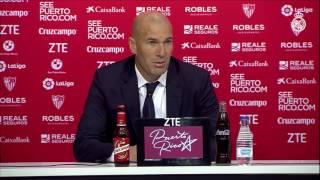 """Zidane: """"Entre los dos partidos merecimos pasar"""""""