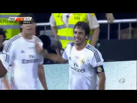 Raul-poslednji gol zaReal Madrid_____Raul - last goal for Real Madrid