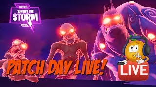 Fortnite Patch 3.5 PVE Survive the Storm Level 70 - 7 Day!
