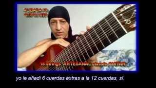 18 STRINGS GUITAR, GUITARRA 18 CUERDAS, ATA TURK GITAR