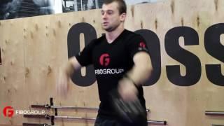 Базовые упражнения с гирей