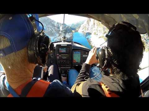 Low Flight Next To Donnell Reservoir Cliffs