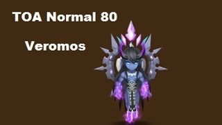 summoners war toa normal 80 veromos monstros farmaveis