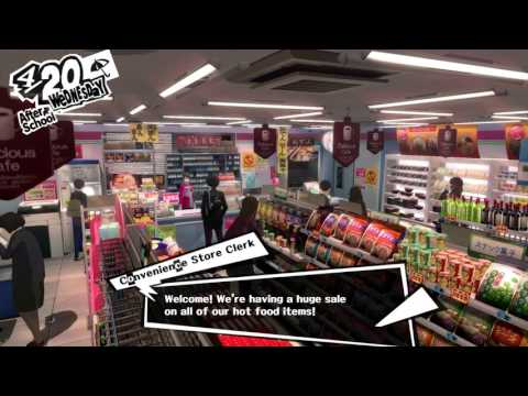 Persona 5 - 4/20 After School: Apply & Work a Part Time Job Tutorial (Work Calender, 777 Register)