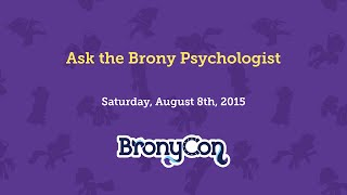 Ask the Brony Psychologist
