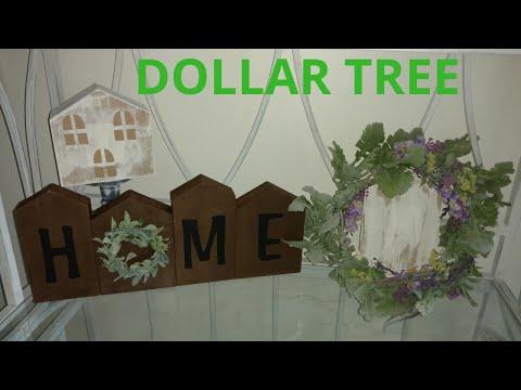 Diy Dollar tree home decor/collaboration with thread tank / DIY farmhouse decor
