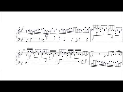 Cyprien Katsaris - Bach: Partita No. 1 in B flat major, BWV 825