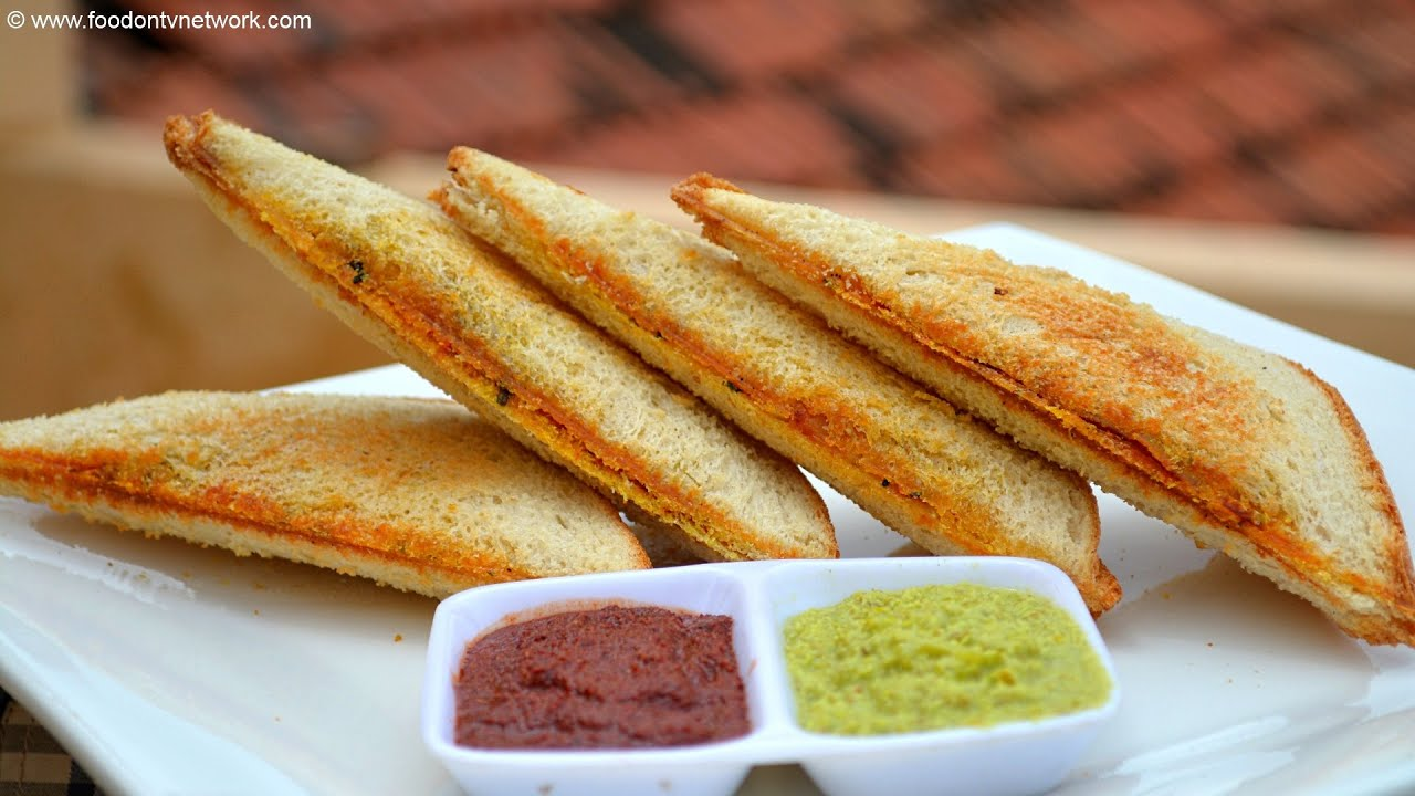 Bombay Toast Recipe  How To Make Masala Toast  Quick & Easy Fast Food   Youtube