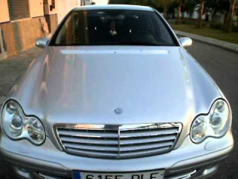 mercedes c220 cdi sport edition 2005 youtube. Black Bedroom Furniture Sets. Home Design Ideas