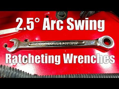 Milwaukee Ratcheting Combination Wrench Sets with Max Bite Review