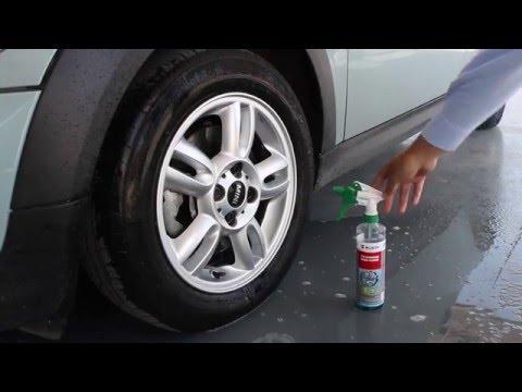 4 x 5L INOX/® Limpiador de llantas Concentrado para llantas de aluminio y acero que elimina la suciedad pesada como el /óxido y el polvo de los frenos