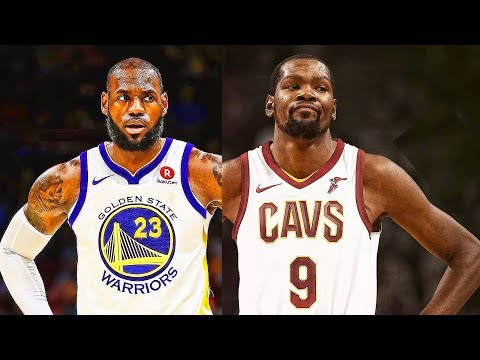 LeBron James and Kevin Durant Switch Teams - LeBron Joins Warriors, Durant Joins Cavaliers