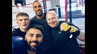 CAMPBELL HATTON: ON FATHERHOOD, INJURY AND FIGHT UPDATE NOW HE IS BACK IN THE GYM