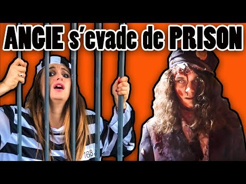 ANGIE TENTE DE S'ÉVADER D'UNE PRISON TERRIFIANTE!!! FILM D'HORREUR D'HALLOWEEN ANGIE MAMAN 2.0