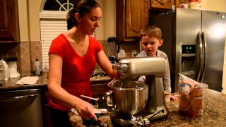 How To Make Whole Wheat Chocolate Chip Cookies With A Breville Mixer