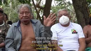 Líder indígena brasileiro desafia Bolsonaro em defesa da Amazônia!