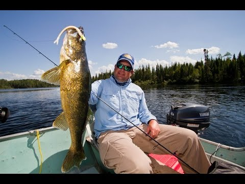 Walleye Fishing Ontario Canadian Shield Fly In Camp