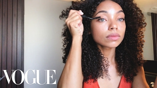 How to Master Your Curl Pop Like Dear White People's Logan Browning | Beauty Secrets
