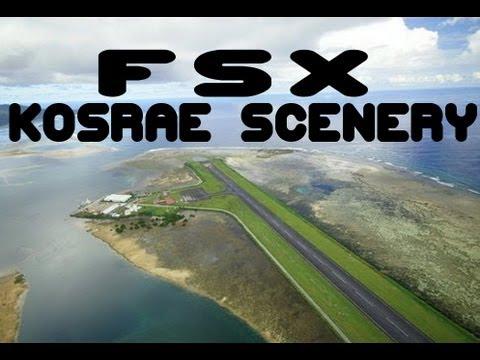 Pacific Islands Simulation - Kosrae Scenery - FSX HD