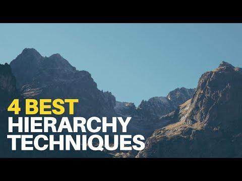 Four Best Hierarchy Techniques