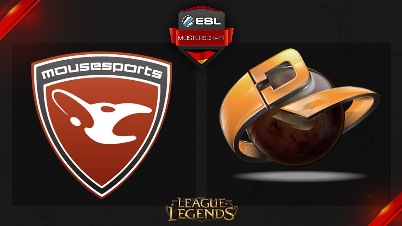 League Of Legends Esl Meisterschaft