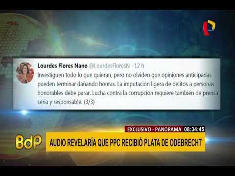 Lourdes Flores se pronuncia tras difusión de audio con aspirante a colaborador eficaz