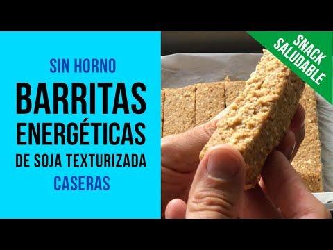 Barritas Energéticas Protéicas de Soja Texturizada