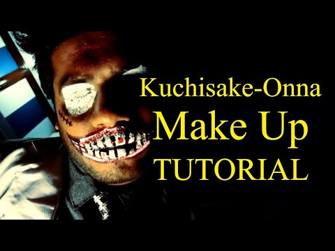 The Dentist - Kuchisake Onna Facepaint Tutorial