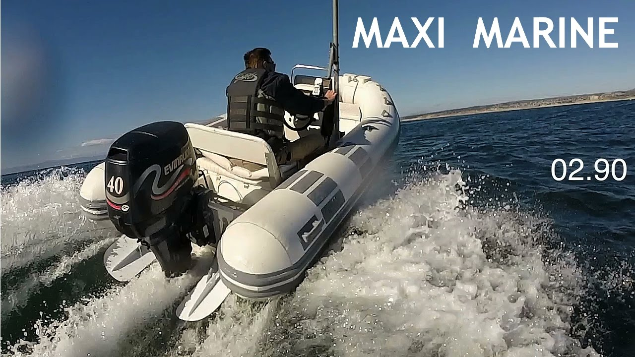 MAXI MARINE - Detachable Planing System for Inflatable Sportboats