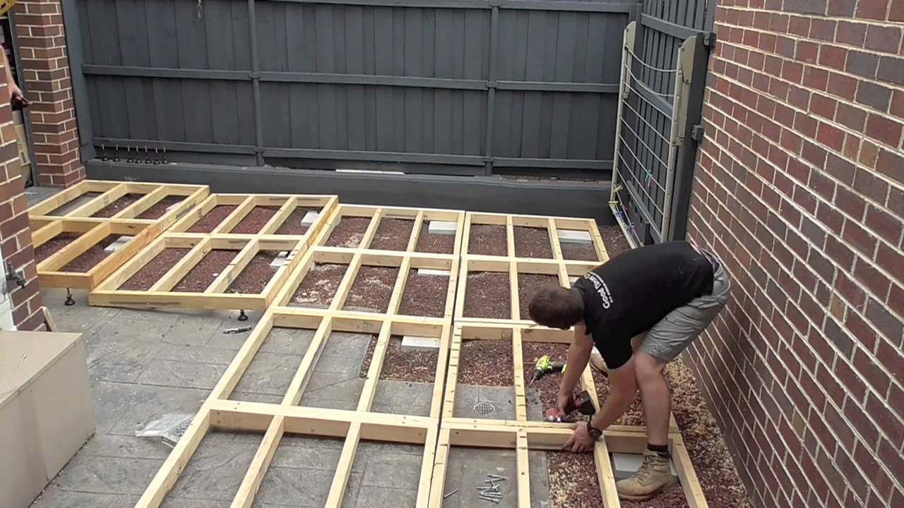 Good Times Modular Decking Youtube