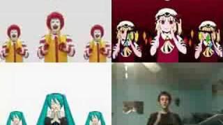 M.C.ドナルドはダンスに夢中(ry - 4種比較) / McRoll'd (4 panels comparison) thumbnail