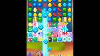 Candy Crush Friends Saga Level 334 - NO BOOSTERS 👩👧👦   SKILLGAMING ✔️