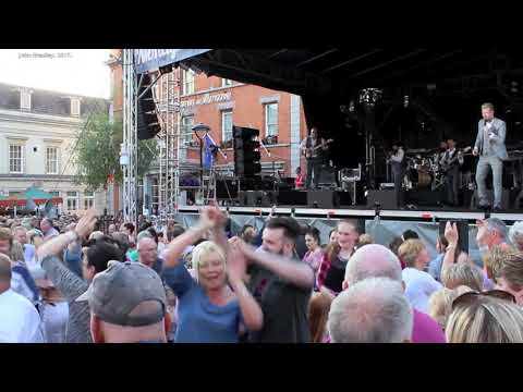 MIKE DENVER  2017 Monaghan Town Country Music.