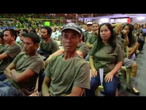 997 Zambo farmers thank Duterte for release of land titles, provision of infra