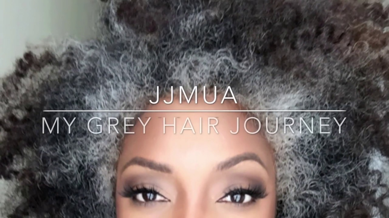Grey Hair Journey Transitioning To Grey Hair Youtube