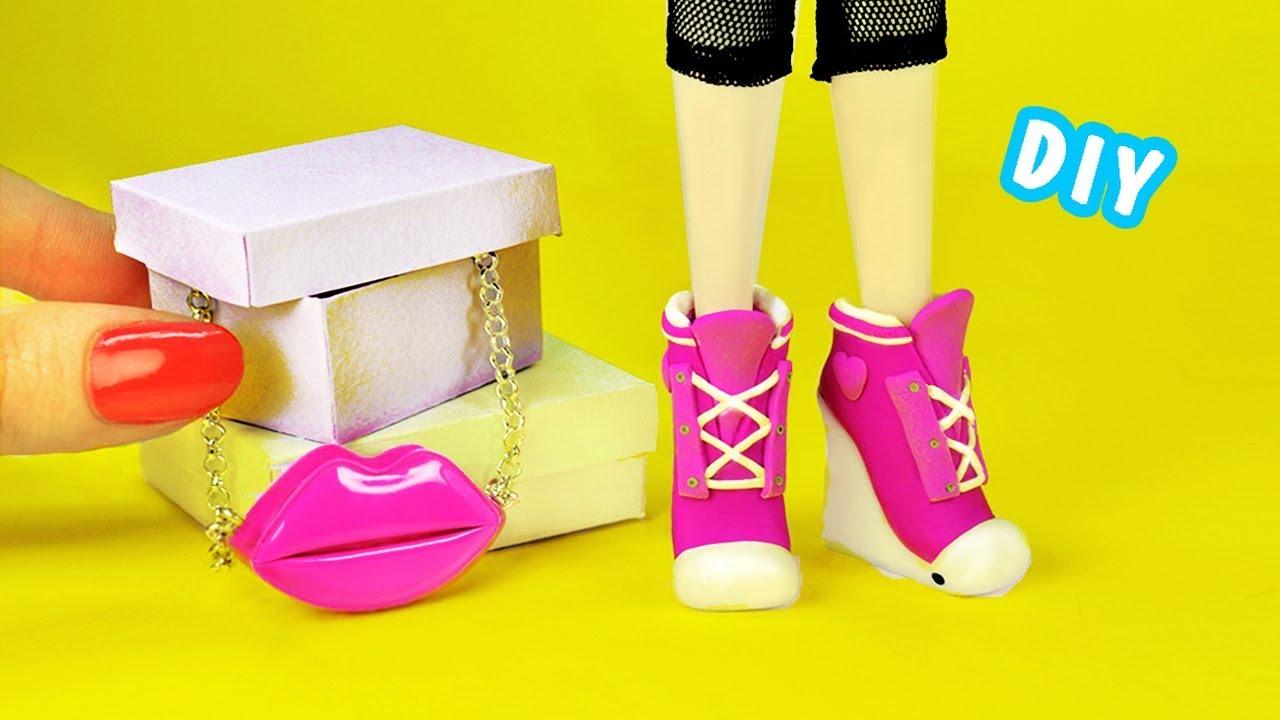 Делаем своими руками обувь для кукол