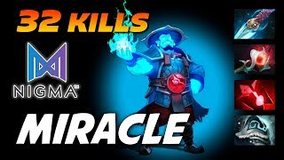 Miracle Storm Spirit 32 Kills OWNAGE - Dota 2 Pro Gameplay
