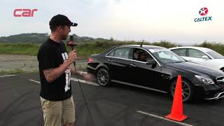 PERFORMANCE SHOOTOUT 2014: Drag race - Mercedes-Benz E63 AMG S vs Audi RS7
