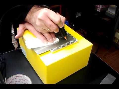 ręczny pisak Extra znakowanie blaszki nierdzewnej